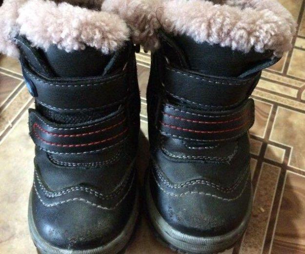 Тёплые ботинки. Фото 1. Ангарск.