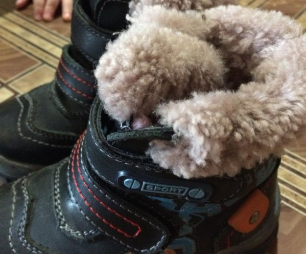 Тёплые ботинки. Фото 2. Ангарск.