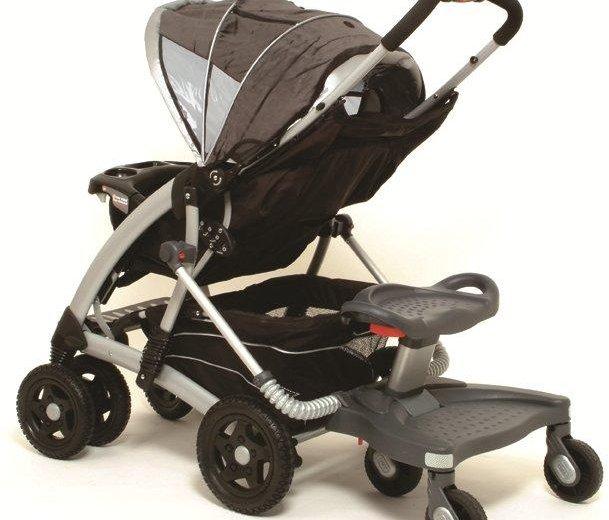 Подножка (подставка) к коляске для второго ребенка. Фото 1. Москва.