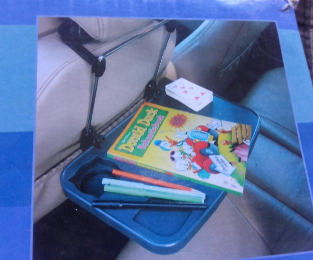 Многофункциональный автомобильный столик. Фото 4.