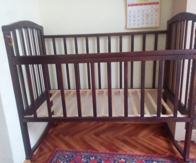 Детская кроватка. Фото 2. Новосибирск.