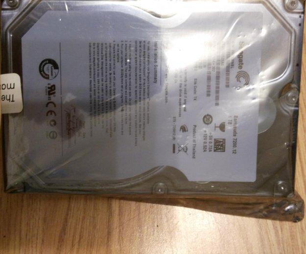 """Жесткий диск seagate 1tb 3,5"""". Фото 2. Москва."""