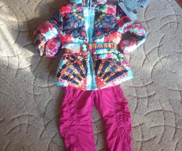 Куртка новая 3-4 года и лосины. Фото 1. Ростов-на-Дону.