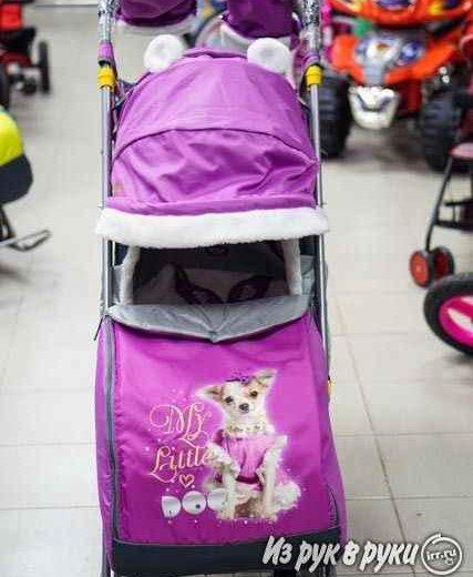 Санки-коляска новые. Фото 2. Челябинск.