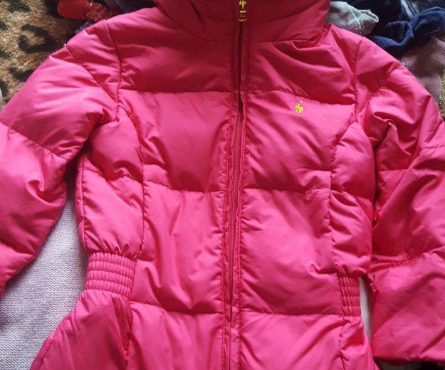 Пуховая куртка ralph lauren. Фото 1. Мытищи.
