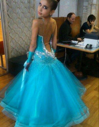Платье для бальных танцев. Фото 1. Мытищи.