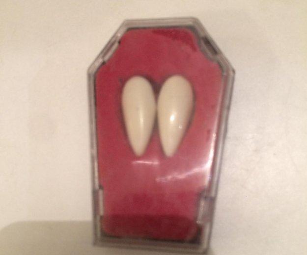Клыки на хеллоуин. Фото 1.