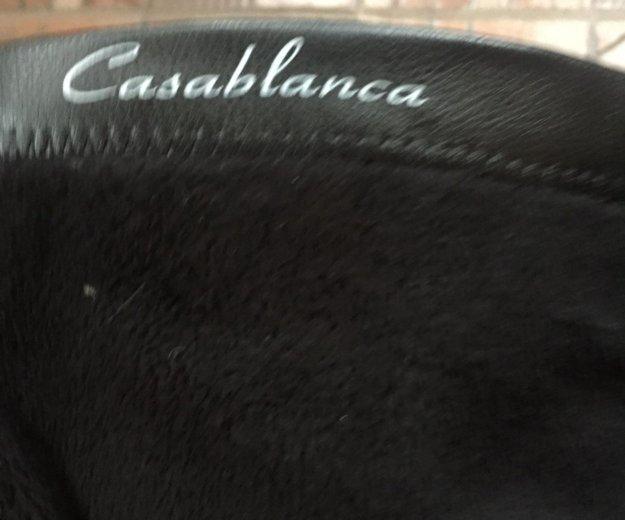 Сапоги на байке, черные. Фото 2. Химки.
