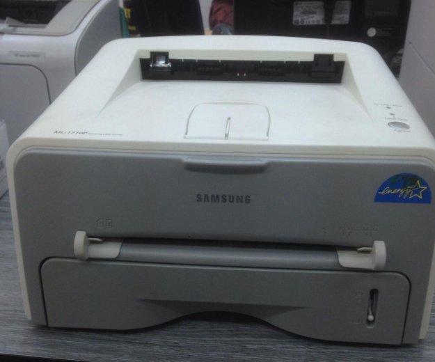 Принтер samsung ml-1710p в отличном состоянии. Фото 1. Казань.