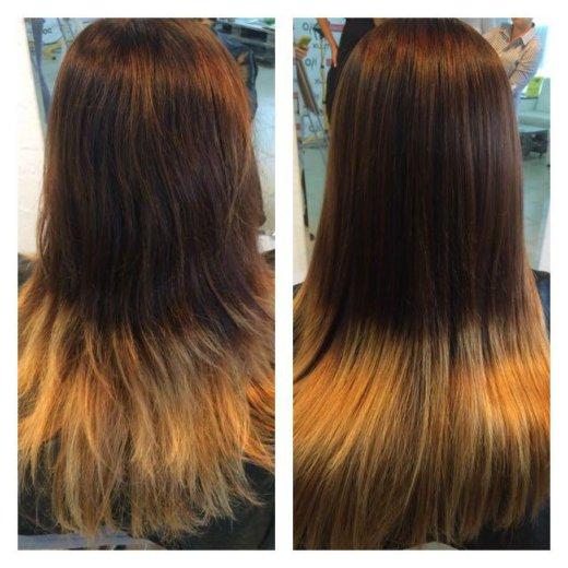 Кератиновое выпрямление волос. Фото 2. Краснодар.