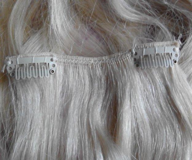 Натуральные волосы (на заколках). Фото 2. Пушкино.