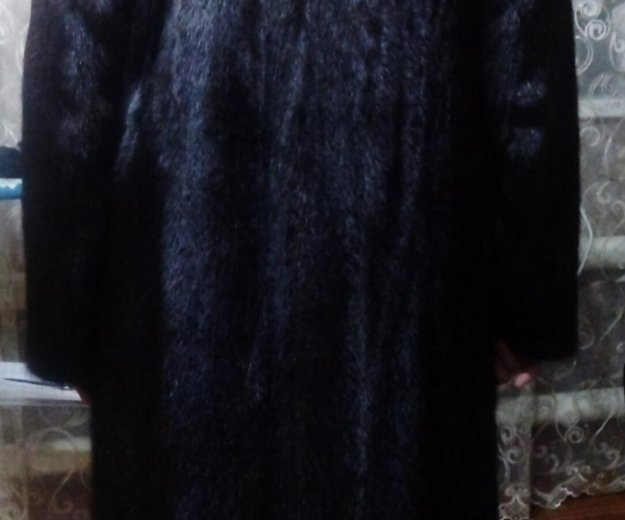 Норковая шуба. Фото 1.