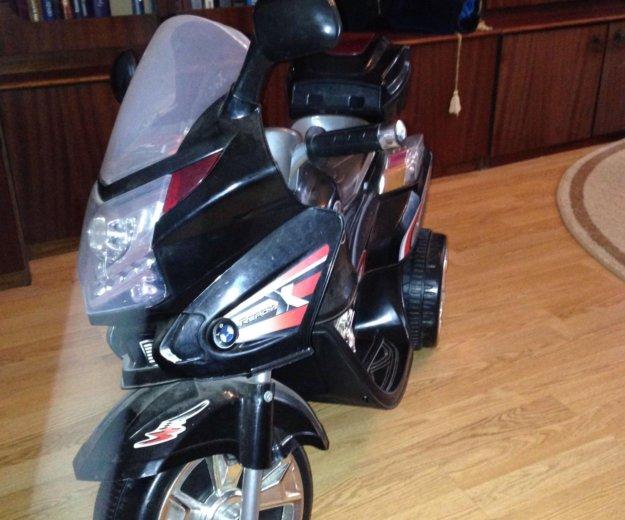 Детский мотоцикл электро. Фото 3. Москва.