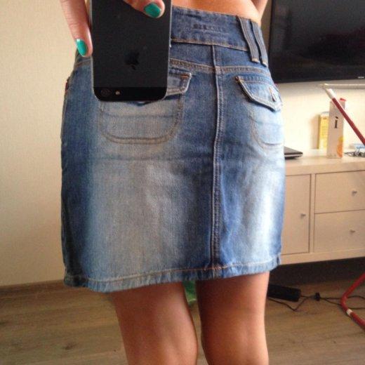 Джинсовая юбка. Фото 2. Мурино.