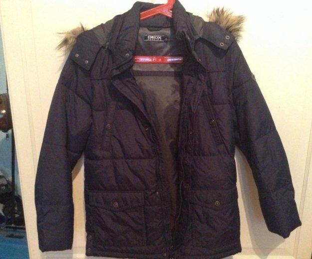 Новая куртка geox на мальчика рост до160. Фото 1. Москва.