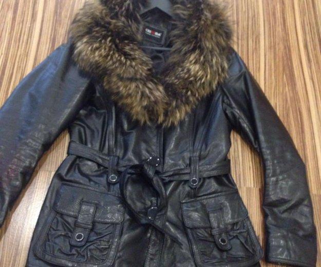 Натуральная кожаная куртка. Фото 1. Набережные Челны.