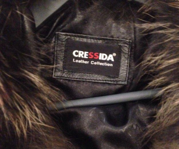Натуральная кожаная куртка. Фото 2. Набережные Челны.