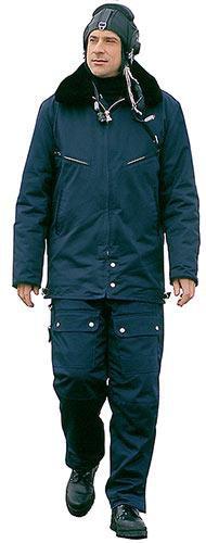 2.094  костюм мужской демисезонный лётный синий. Фото 1. Химки.