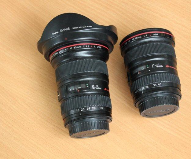 Canon 16-35 mm f2,8 l usm ii. Фото 1.