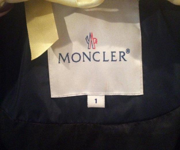 Пуховик moncler. Фото 2.
