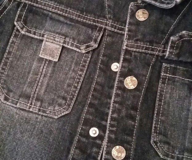 Новая джинсовка на рост до 146. Фото 2. Балашиха.