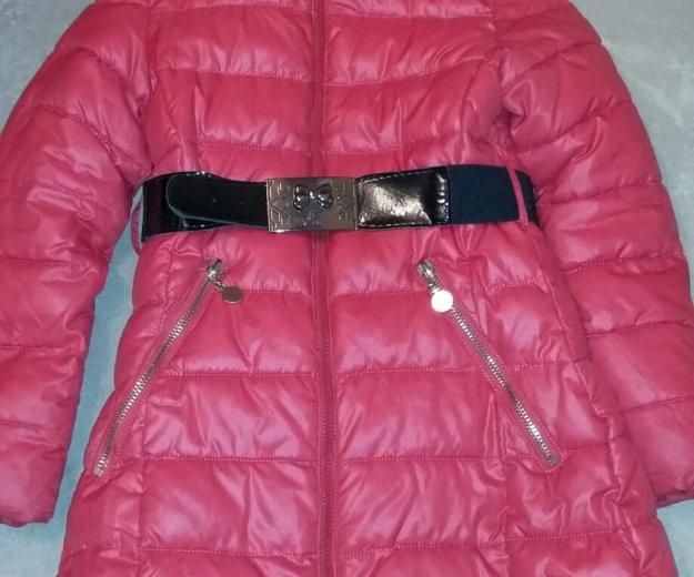 Зимнее пальто р-р 134-140. Фото 1. Подольск.