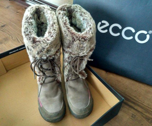 Зимние ботинки 37-37,5. Фото 1. Иркутск.