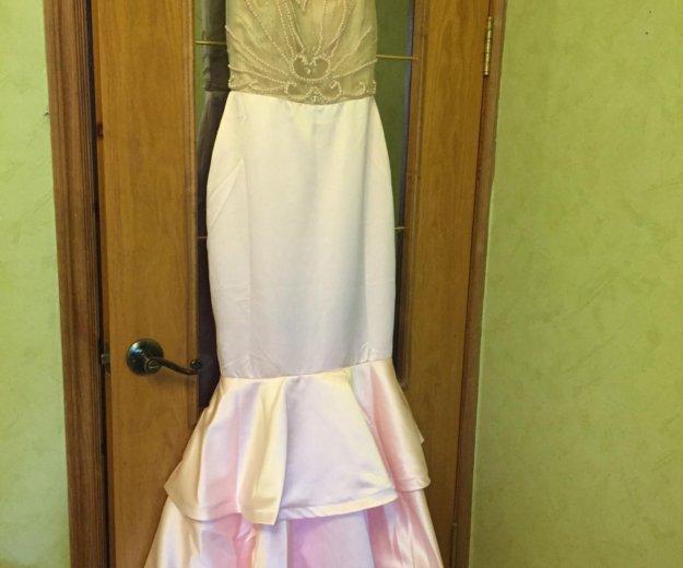 Платье новое розовое под tarik ediz. Фото 1.
