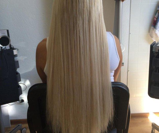 Качественное наращивание волос. Фото 1. Калуга.