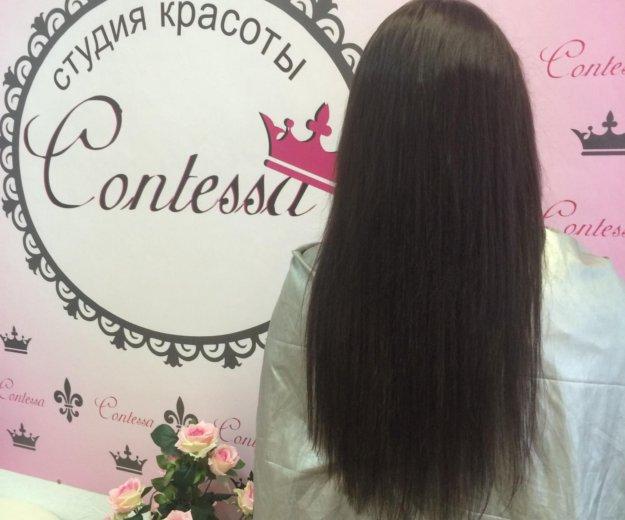 Качественное наращивание волос. Фото 2. Калуга.