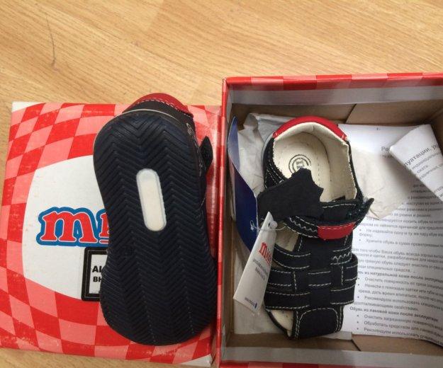 Mkids туфли открытые новые. Фото 3. Москва.