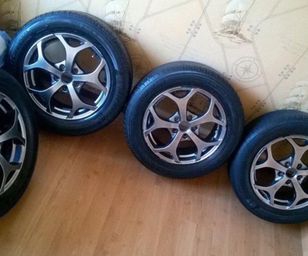 Колеса r16 на ford focus 2 ,f mondeo. Фото 1. Сибай.