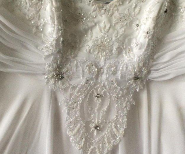 Свадебное плать. Фото 2. Поварово.