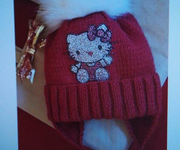Шикарная шапочка для девочки. Фото 1. Москва.