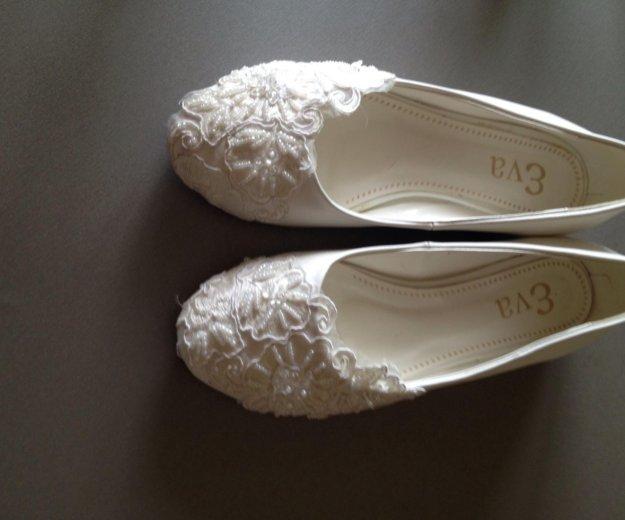 Балетки свадебные. Фото 2. Благовещенск.
