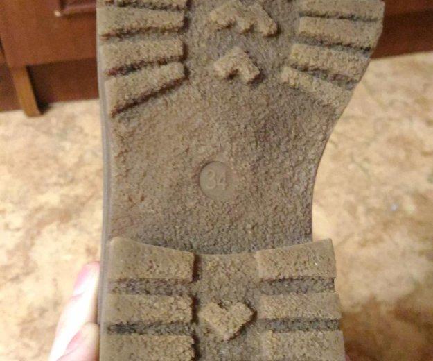 Зимние сапожки для девочки. Фото 4.