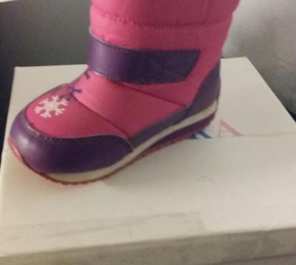 Детская обувь зима б.у.стелька 15см. Фото 2. Аксай.