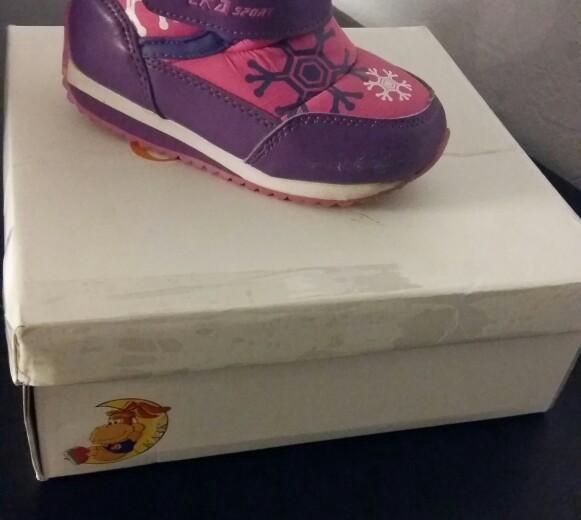 Детская обувь зима б.у.стелька 15см. Фото 4. Аксай.