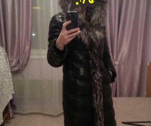 Зимнее кожаное пальто. Фото 3. Екатеринбург.