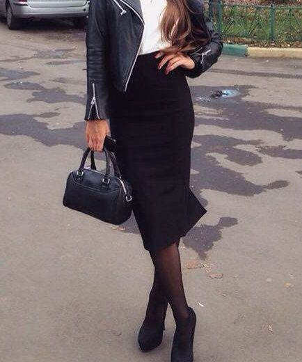 Юбка карандаш длинная. Фото 1. Москва.