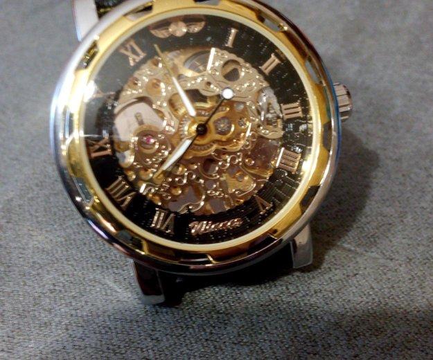 Механические часы winner hollow skeleton. Фото 1. Москва.