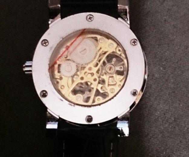 Механические часы winner hollow skeleton. Фото 2. Москва.