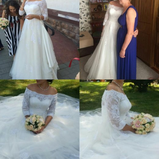 Свадебное платье ania со шлейфом. Фото 1. Краснодар.