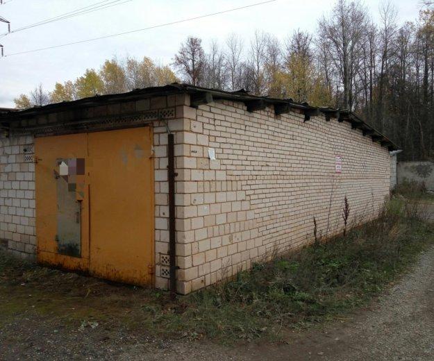 Кирпичный гараж союз. Фото 2. Ижевск.