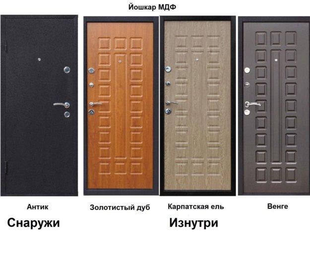 Дверь металлическая. Фото 2. Уфа.