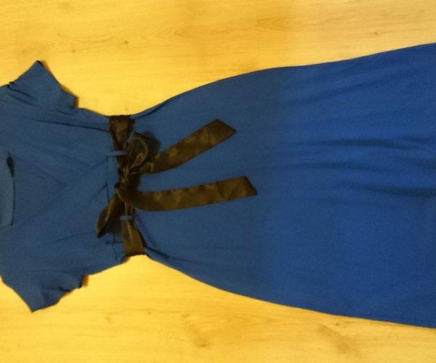 Платье синее ирида. Фото 2.