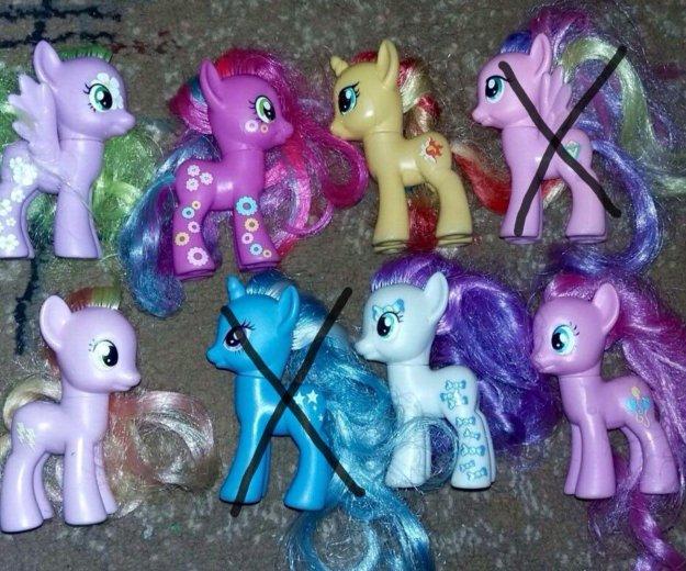 Игрушки пони. Фото 1. Одинцово.