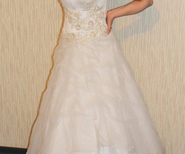 Свадебное платье. Фото 2. Кимры.