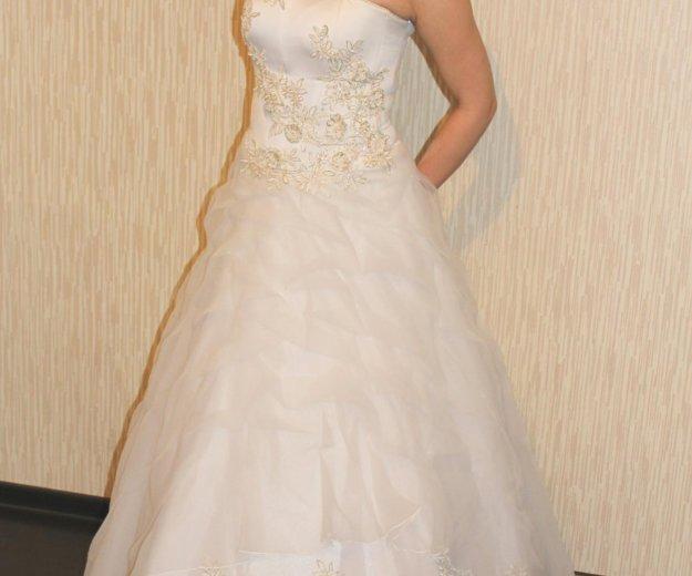 Свадебное платье. Фото 3. Кимры.