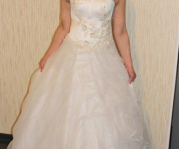 Свадебное платье. Фото 4. Кимры.
